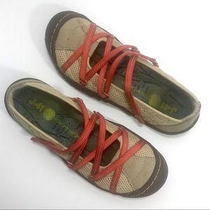 J-41 Jambu US 7.5 Side Line Comfort Walking Shoes